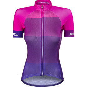 Red Cycling Products Colorblock Race Pyöräilypaita Naiset, purple-pink